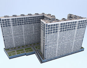 3D asset MSK Building 23 airbus