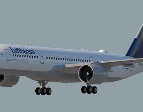 LUFTHANSA AIRLINES A350-941 3D model