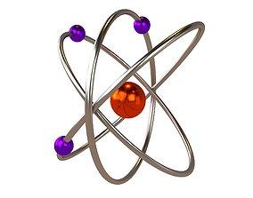 Cartoon Atom v2 006 3D asset