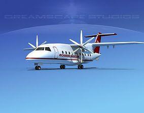 3D model Dornier Do-328-130 Richards Aviation