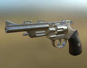 Revolver 04 PBR 3D model