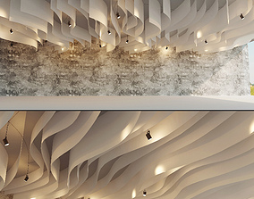 3D asset Suspended ceiling 19