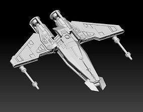 Liberator Starfighter 3D print model