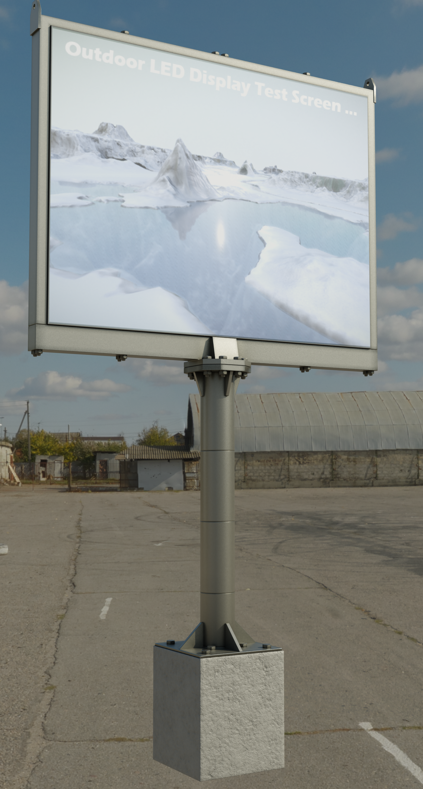 Large Outdoor LED Display