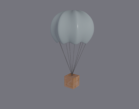3D model low-poly Supply Drop