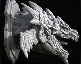 3D Printable Monster hunter wall trophy - Rathalos