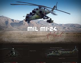 3D asset Mil Mi-24