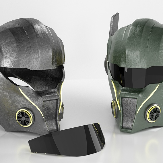 Helmet (Warrior 2084)