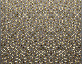 Lattice Arab panel 3D 56