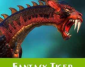3D model Fantasy Tiger
