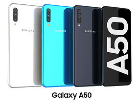 Samsung Galaxy A50 Collection 3D model