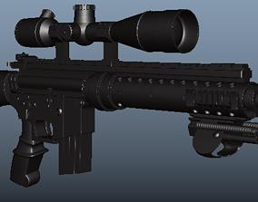 3D asset 3rd person View MK12