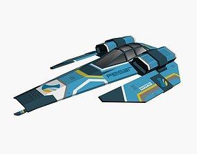 Feisar Ship 3D asset