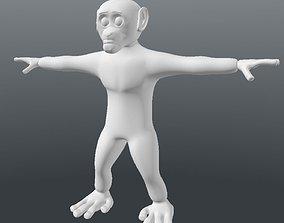 3D asset Free Base Chimp