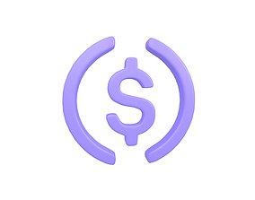 3D model USD Coin v1 003