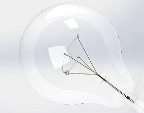 Bulb and individual components 3D print model