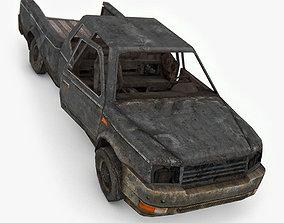 3D model Damage SUV Car