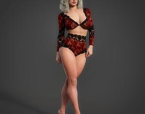 3D rigged Eliana For Genesis 8 Female