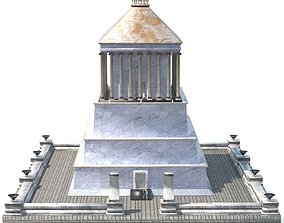 Mausoleum at Halicarnassus 3D asset