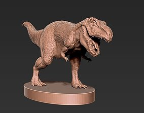 3D print model miniatures T-ReX Figurine