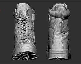 Desert army boot 3D model