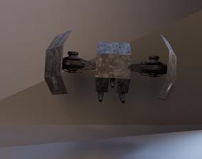 Sci-fi drone 3D asset VR / AR ready