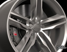 3D Audi S7 rim