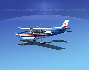 3D Cessna 182 Skylane V04