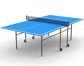 3D model Ping-Pong Table