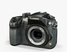 Panasonic Lumix DMC-GH3 mirrorless digital camera 3D asset