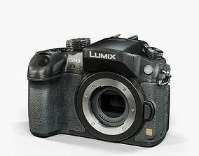 Panasonic Lumix DMC-GH3 Black 3D model