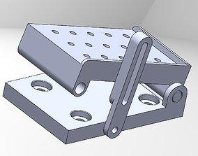 Sine Plate Assembly 3D print model
