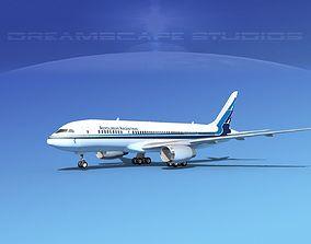 3D model Boeing 787-8 Aerolineas Argentinas