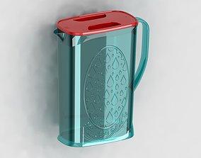 3D printable model Plastic jug