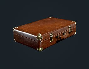 Suitcase Luggage Travel Briefcase 3D asset