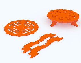 3D printable model Teapoy Table Puzzle