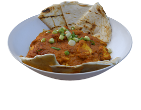 3D model BUTTER CHICKEN RICE BOWL