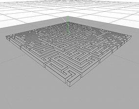 3D Maze - square