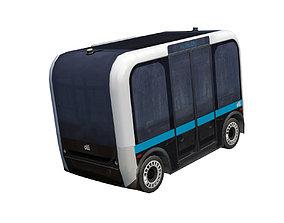 Driverless shuttle Olli low poly model VR / AR ready