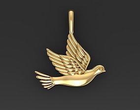3D print model Dove pendant pigeon