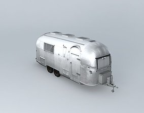 Airstream Old Wreck Dummy 3D model
