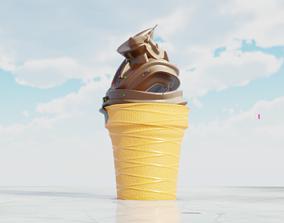 Ice Cream 3D model VR / AR ready