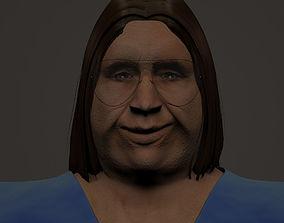 3D model Large guy