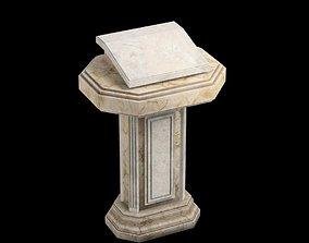 marble pulpit 3D