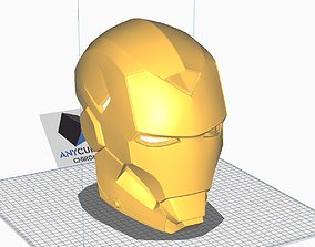 3D print model Avengers IRON MAN Mark 15 MK15 Helmet