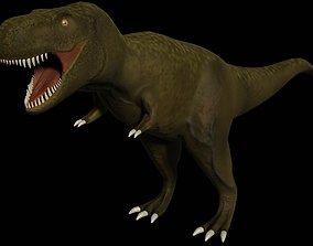 3D asset game-ready T-Rex