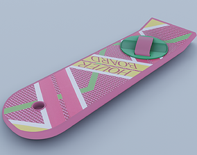3D animated Hoverboard