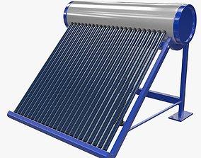 Solar Heater 1 3D