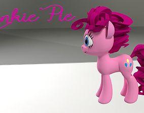 My Little Pony PinkiePie 3D Model realtime mylittlepony