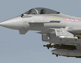 EF2000 Typhoon British 3D